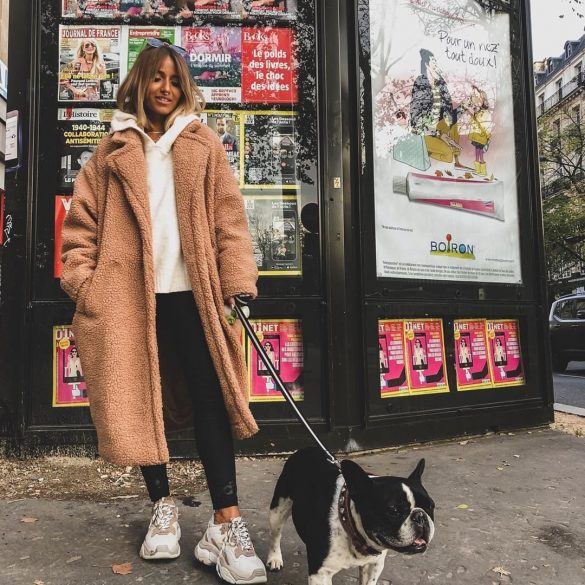 Le teddy coat : les influenceuses se l'arrachent !