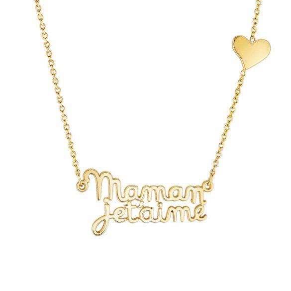 A la recherche d'un cadeau pour la Fête des mères ? Optez pour un bijou à message !
