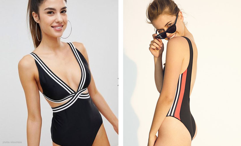Une-pièce ou deux, trikini, ou bandeau, choisissez votre maillot de bain de l'été !