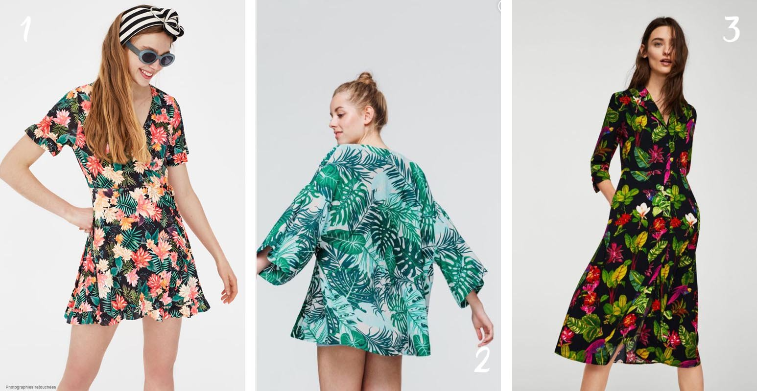 Jungle mood : 6 looks pour adopter l'imprimé tropical sans se tromper