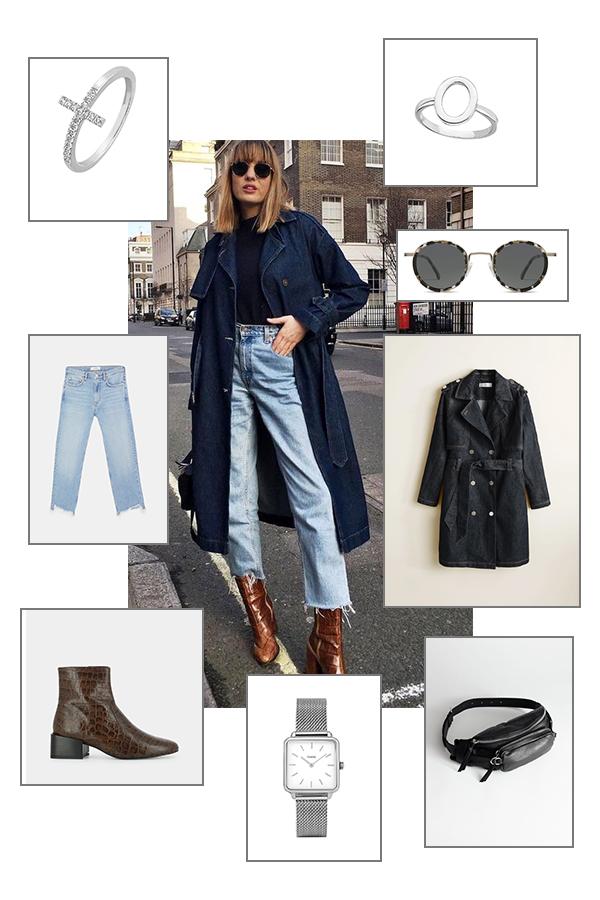 Pinterest : on reproduit un look casual et tendance en jean !