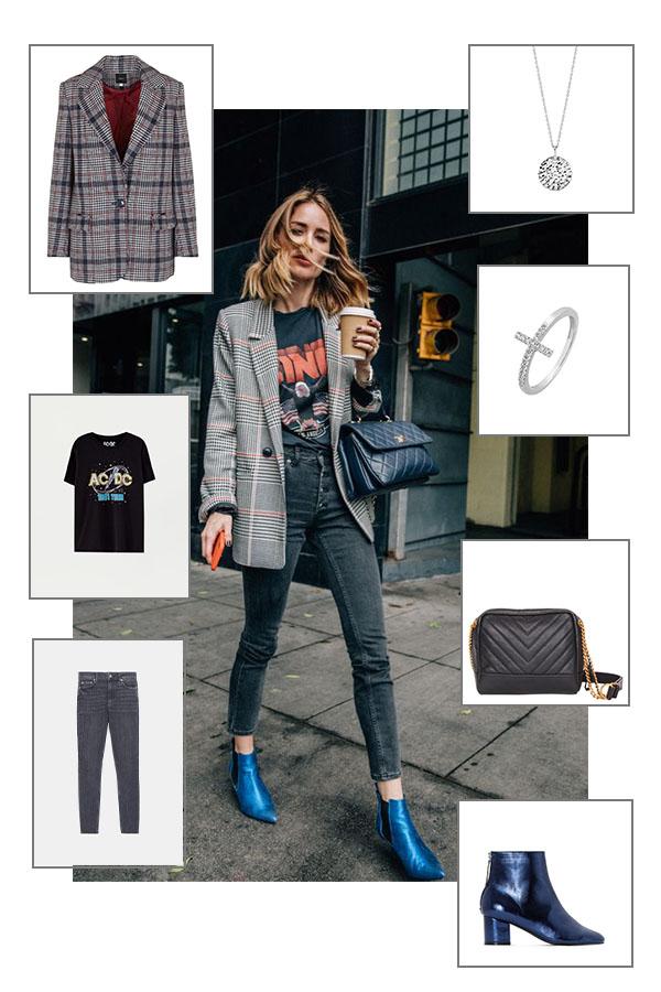 Street style : on reproduit un look rock déniché sur Pinterest !