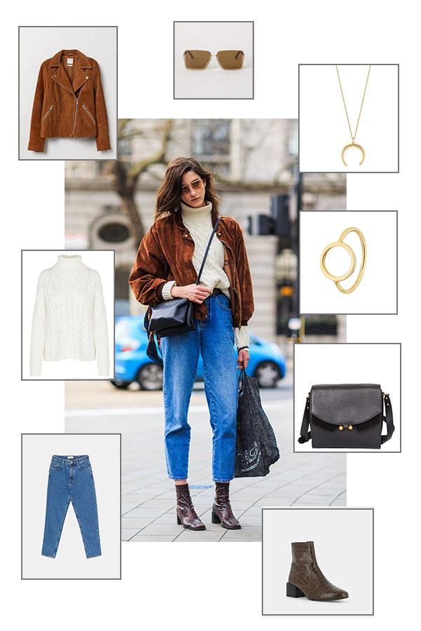 Street style : on craque pour les vibes vintage de ce look Pinterest !