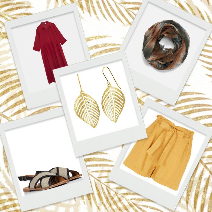 Wishlist de la semaine #63 : un vestiaire lin tendance pour ce printemps !