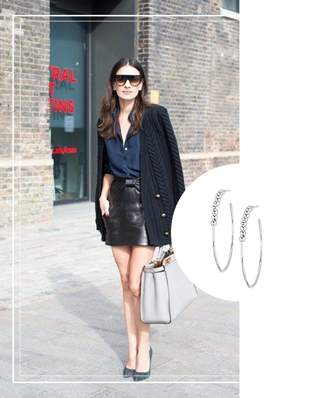 Minute mode : comment porter la jupe en cuir
