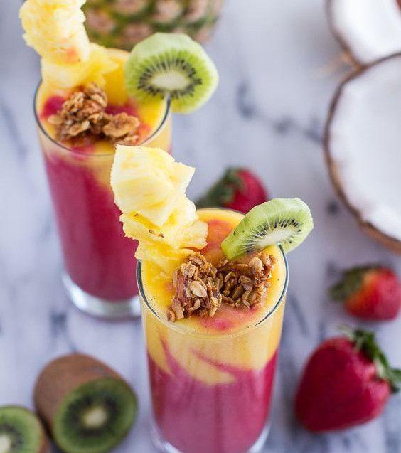 Pause gourmande : notre recette de smoothies multivitaminés !